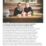 Article sur Fleurs de Saison dans Fleuriste Magazine