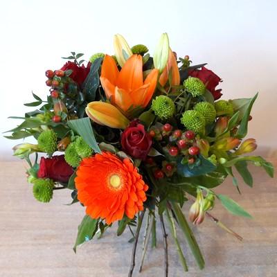 Bouquet rond (avec ou sans reserve d'eau)
