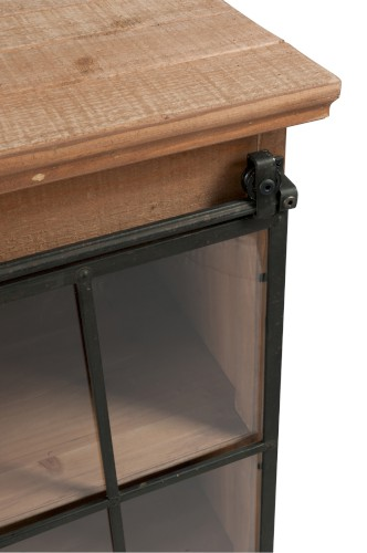 commode 6 tiroirs 1 porte coulissante fleurs de saison. Black Bedroom Furniture Sets. Home Design Ideas