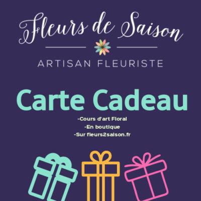 Carte cadeaux Art Floral